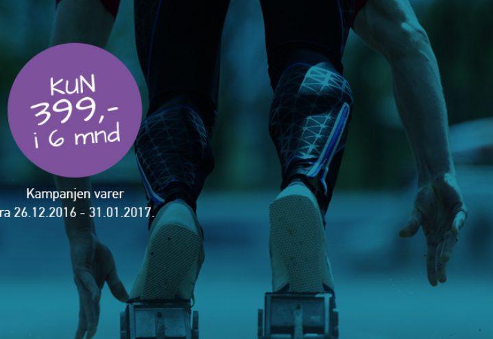 Ready, set, go! … Ikke vent … Start treninga nå!