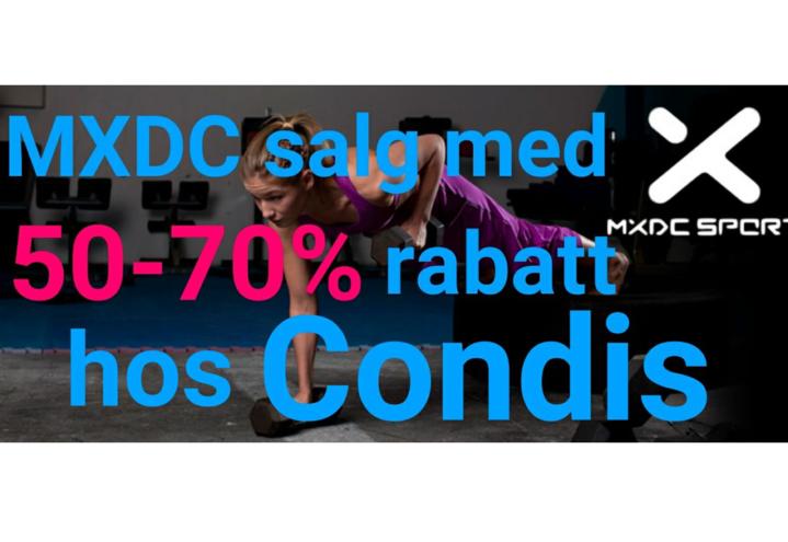 MXDC salg hos Condis Lørenskog