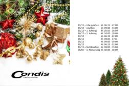 Åpninstider lørenskog julen 2019