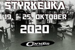 Styrkeuka 19. – 25. oktober 2020